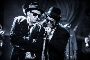 The Blue Onions - Germany's Number One Blues Brothers Tribute Band live at Hüttenwerk Michelstadt 12.12.2015