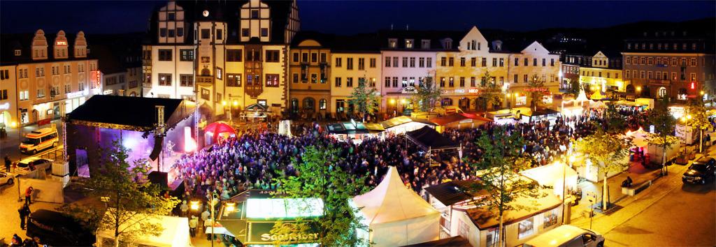 Marktfest Saalfeld